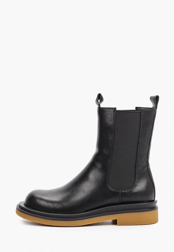 женские ботинки-челси thomas munz, черные