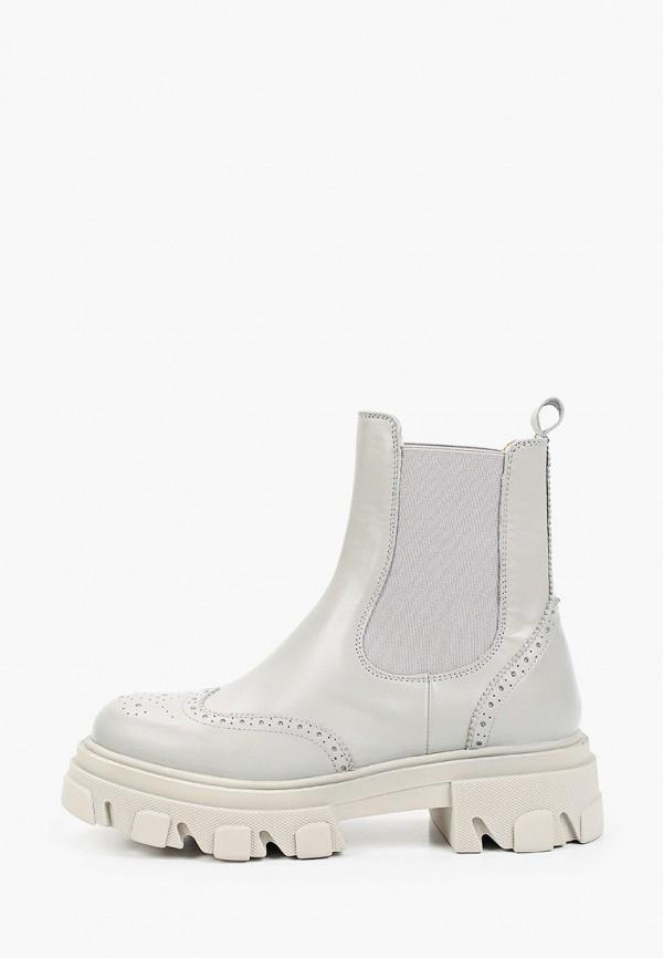 женские ботинки-челси emanuele gelmetti, серые