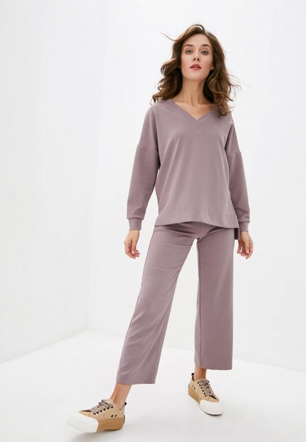 женский костюм lilove, коричневый