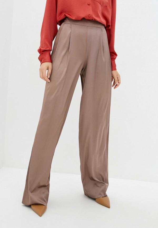 женские повседневные брюки jhiva, коричневые