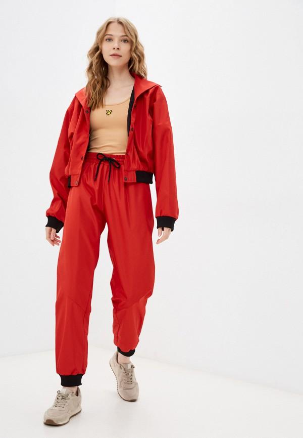 женский спортивный костюм malaeva, красный