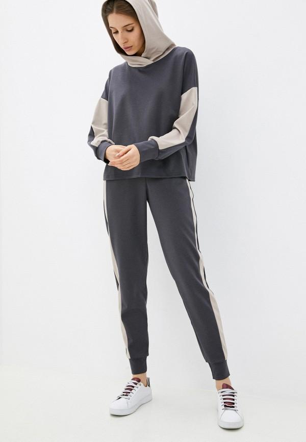 женский спортивный костюм baon, серый