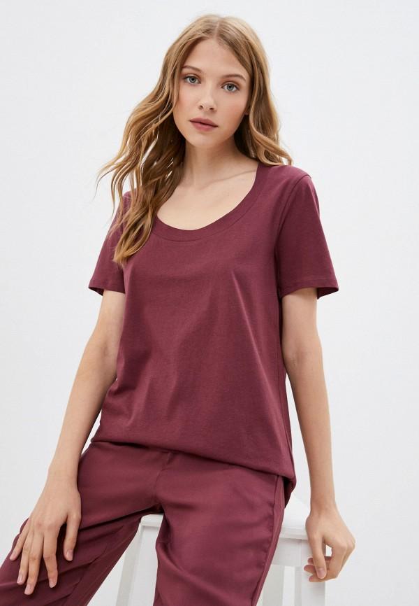 женская футболка tezenis, розовая
