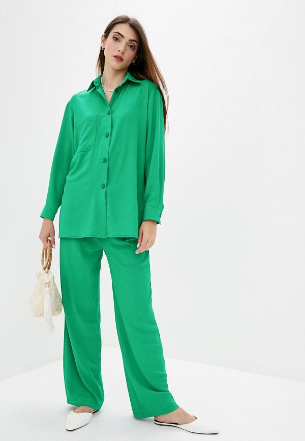 женский костюм lilove, зеленый