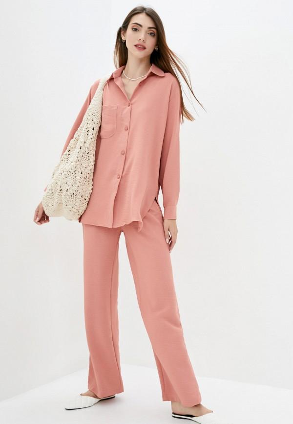 женский костюм lilove, розовый