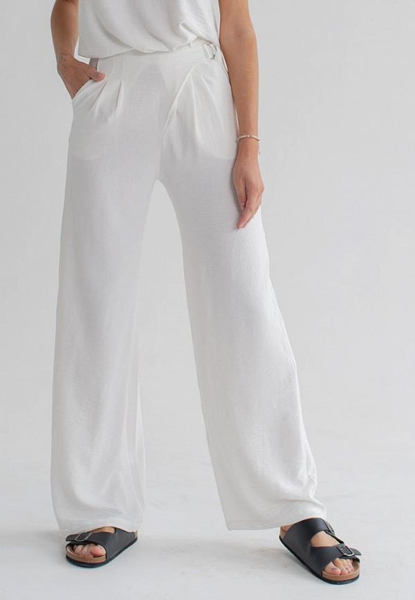 женские повседневные брюки love pam, белые