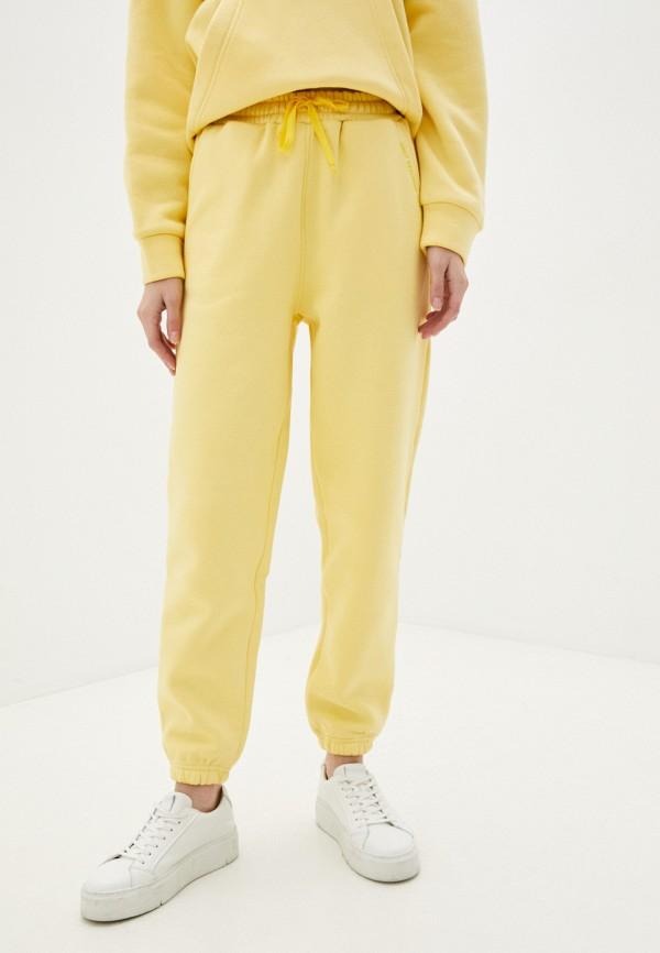 женские спортивные брюки libellulas, желтые