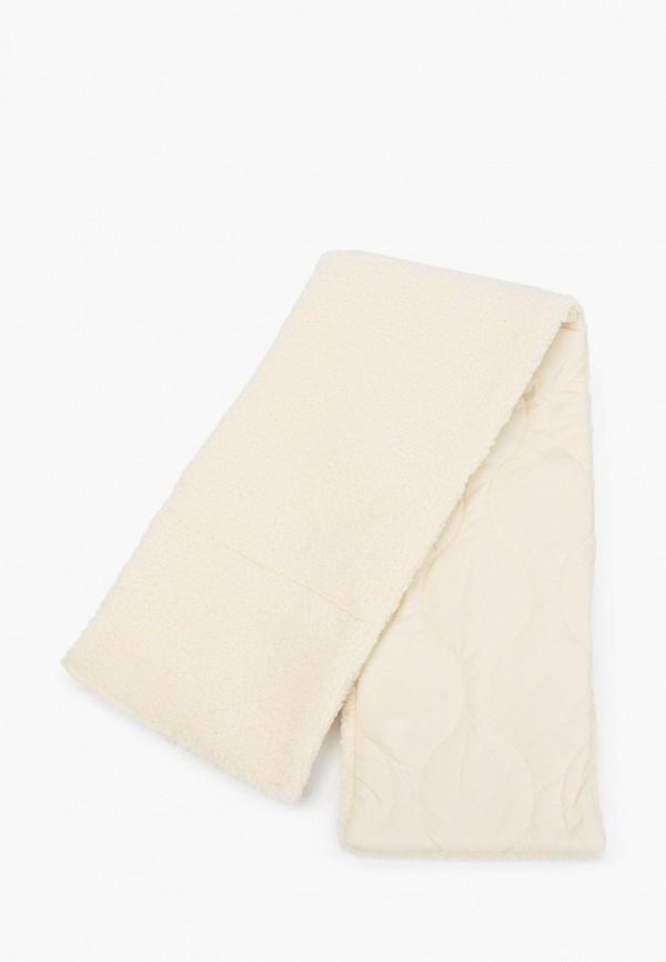 женский шарф love republic, белый