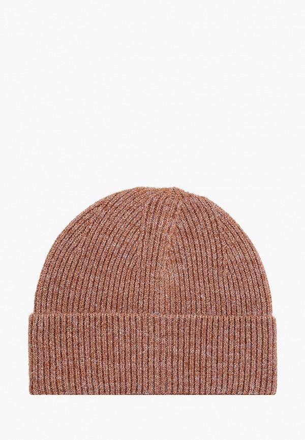 женская шапка love republic, коричневая