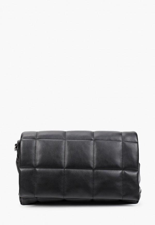 женская сумка через плечо mascotte, черная