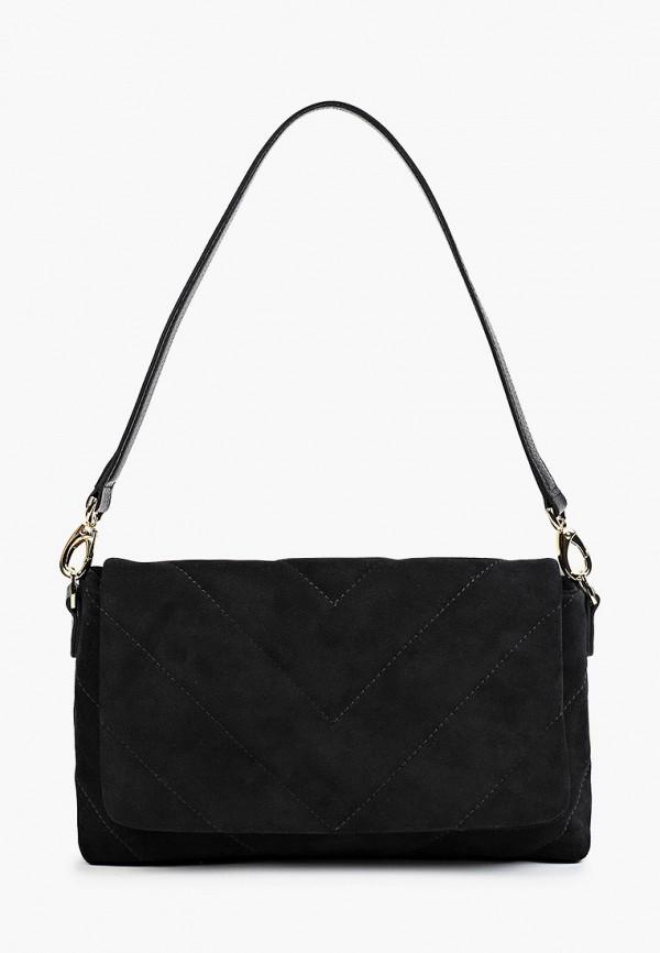 женская сумка с ручками mascotte, черная