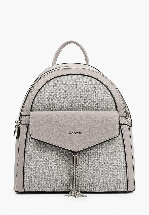 женский рюкзак mascotte, серый