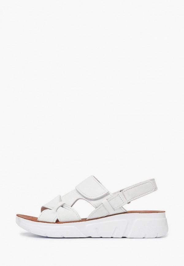 женские сандалии alessio nesca, белые