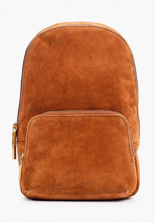 женский рюкзак alla pugachova, коричневый