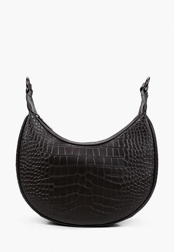 женская сумка с ручками ekonika, коричневая