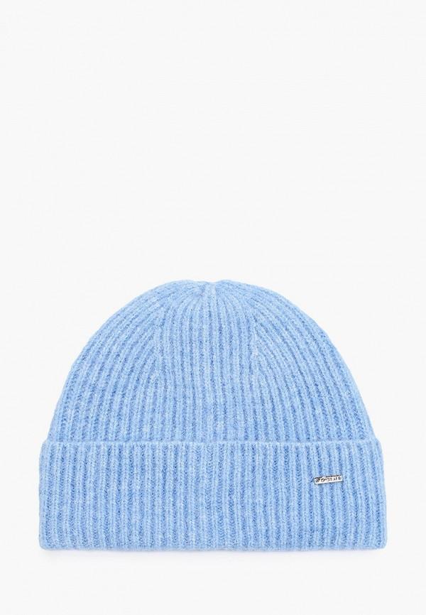 женская шапка o'stin, голубая