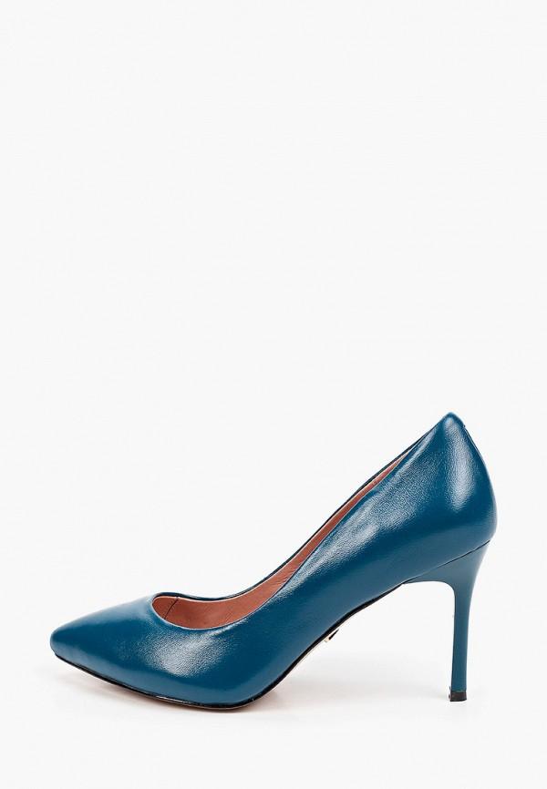 женские туфли-лодочки ivolga, бирюзовые