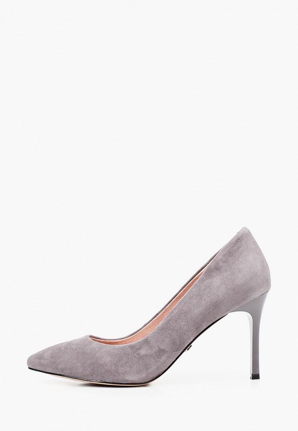 женские туфли-лодочки ivolga, серые