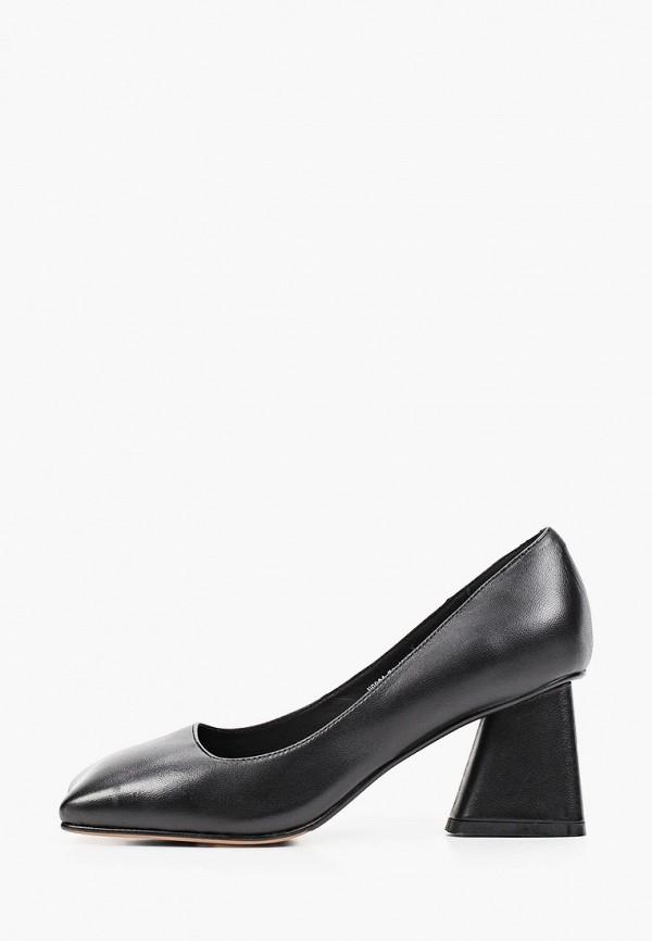 женские туфли с закрытым носом ivolga, черные