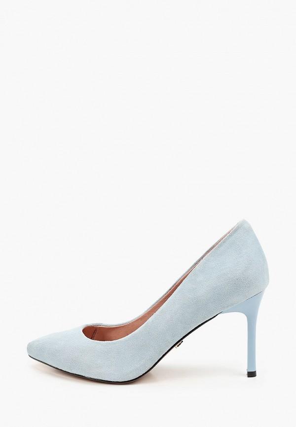 женские туфли-лодочки ivolga, голубые
