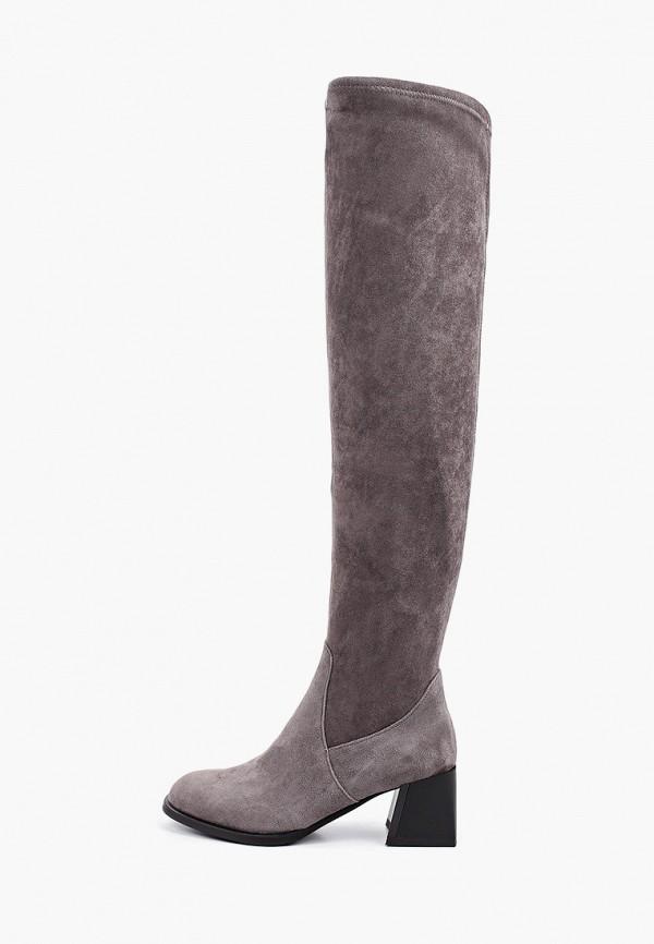 женские ботфорты ivolga, серые