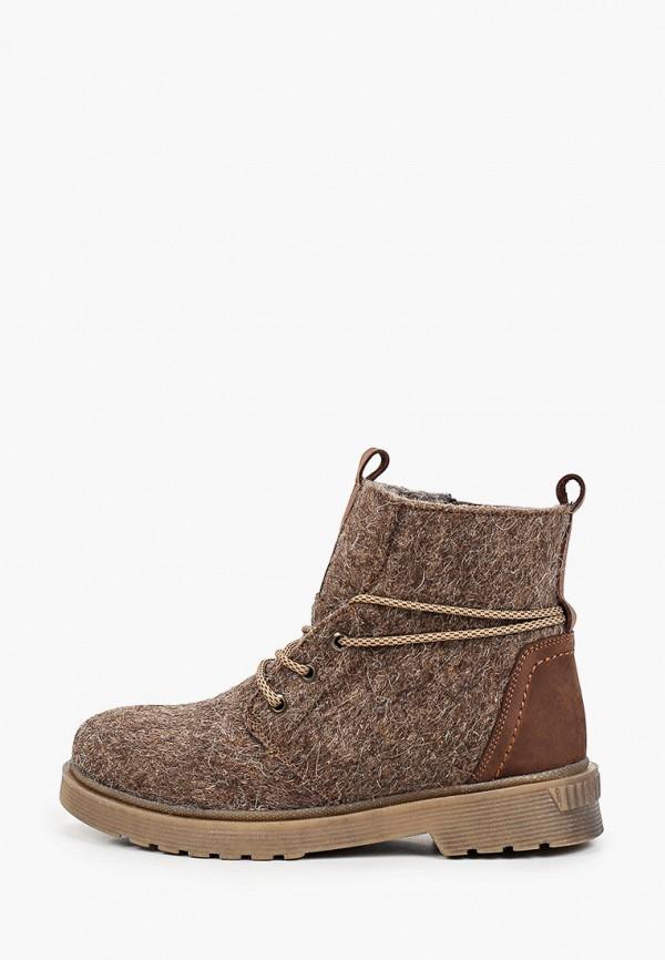 женские высокие ботинки makfly, коричневые