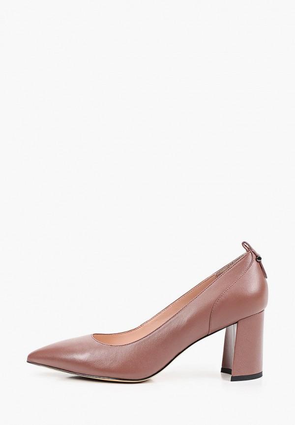 женские туфли с закрытым носом basconi, коричневые