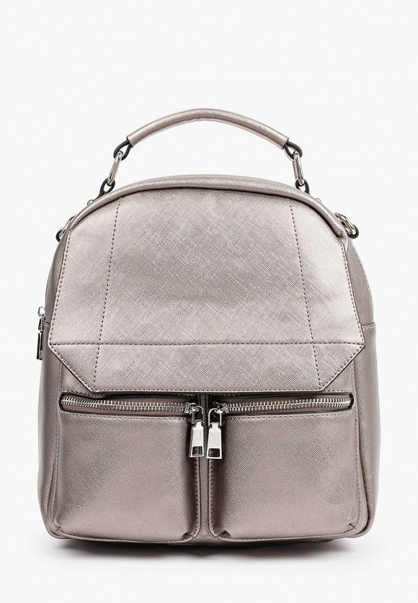 женский рюкзак снежная королева, коричневый