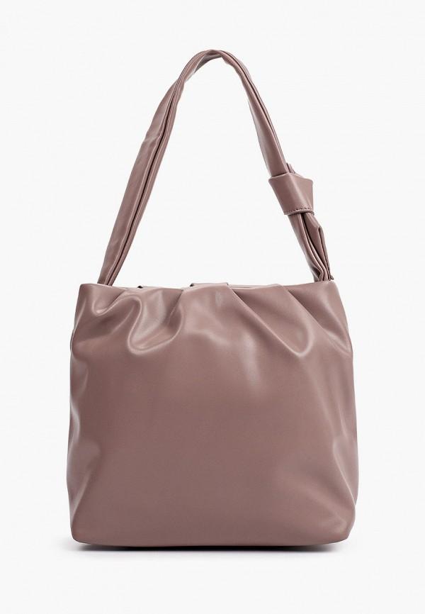 женская сумка с ручками снежная королева, розовая