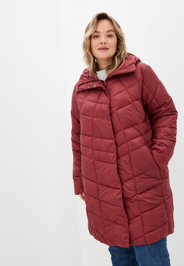 женская спортивные куртка northland, бордовая