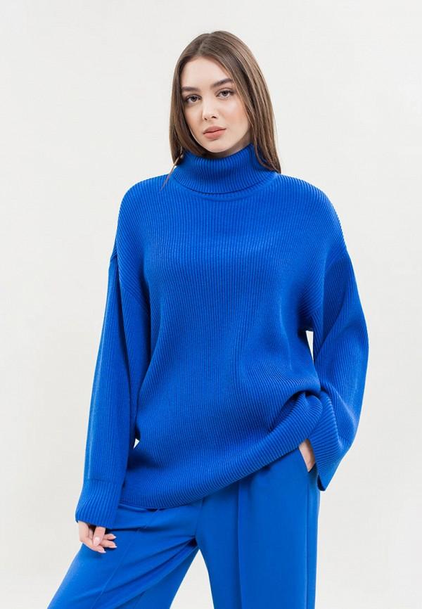женский свитер maxa, синий