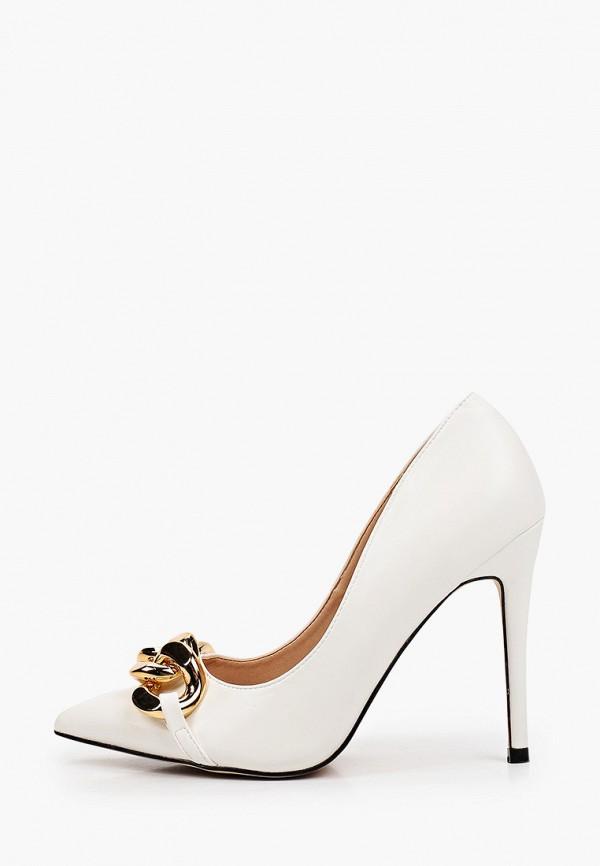 женские туфли-лодочки vivian royal, белые