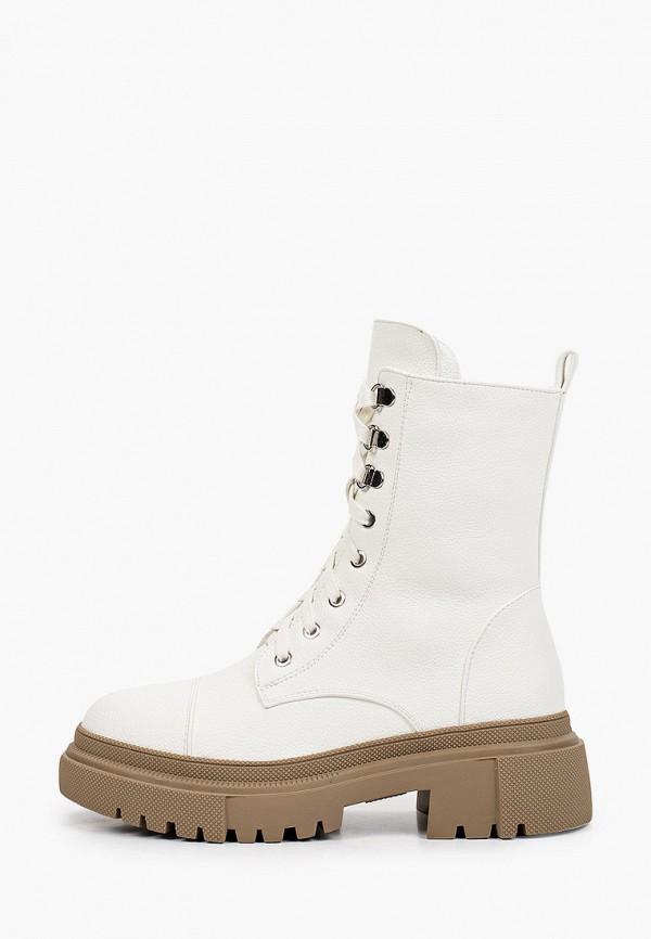 женские высокие ботинки vivian royal, белые