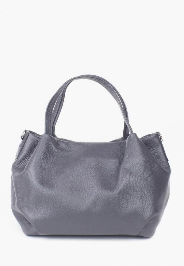 женская сумка bella bertucci, серая
