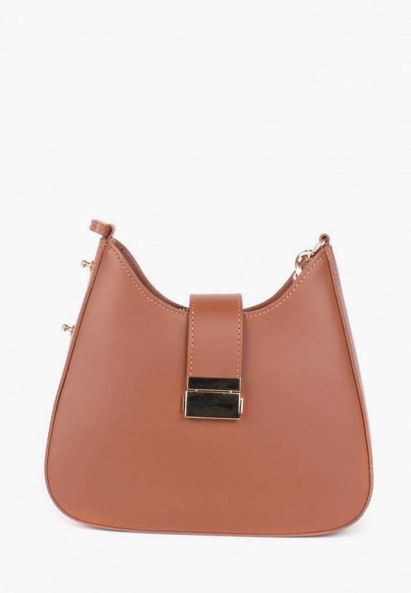 женская сумка bella bertucci, коричневая