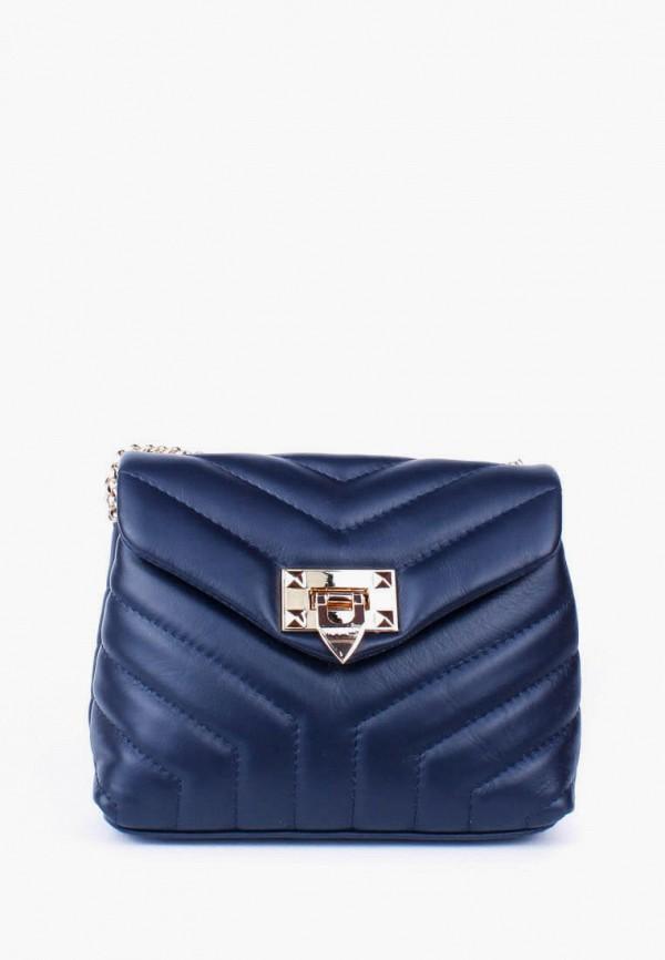 женская сумка bella bertucci, синяя