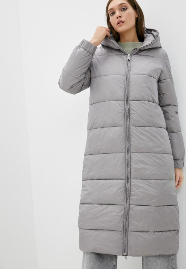 женская утепленные куртка baon, серая