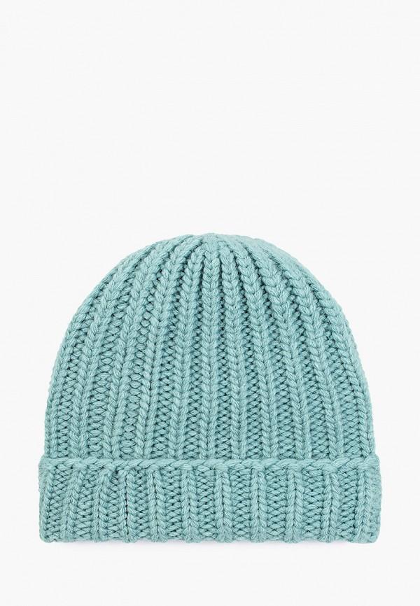 женская шапка baon, бирюзовая