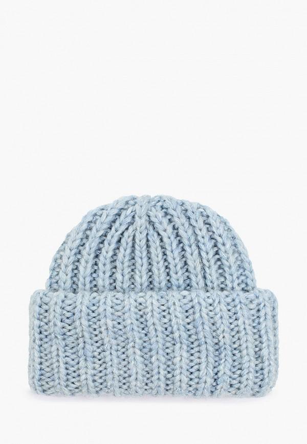 женская шапка baon, голубая