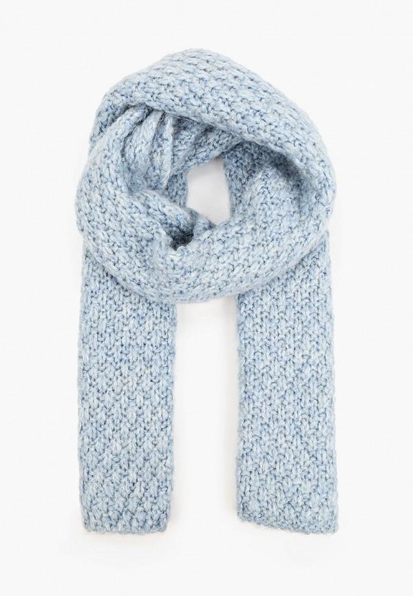 женский шарф baon, голубой