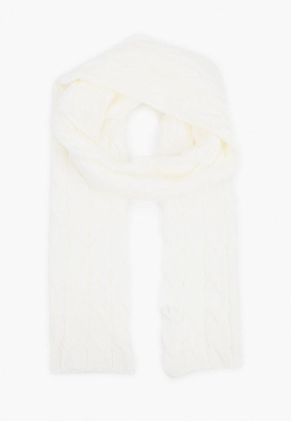 женский шарф baon, белый