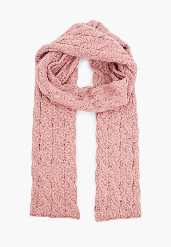 женский шарф baon, розовый