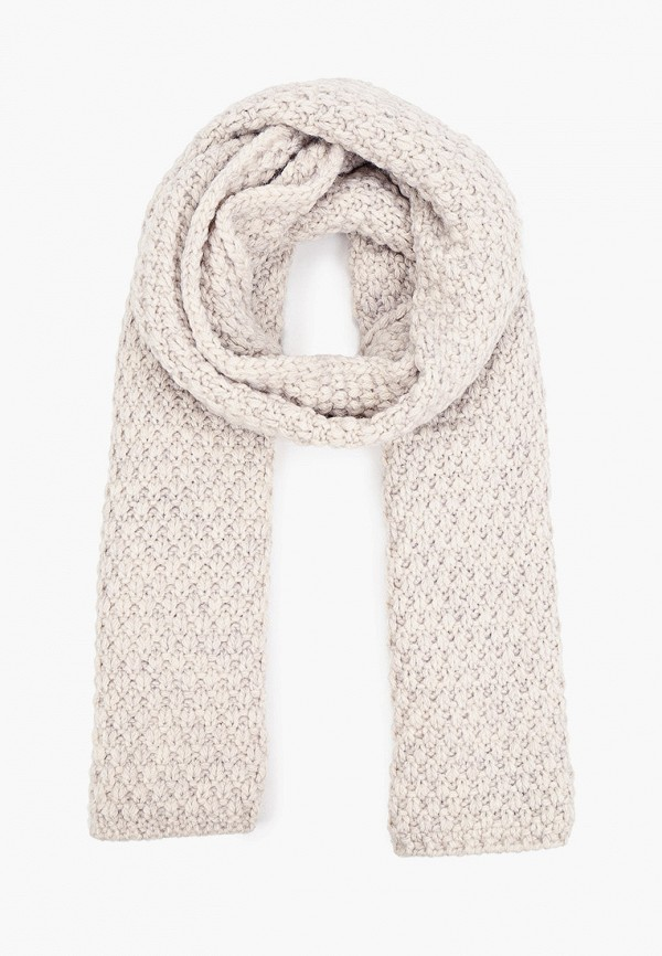 женский шарф baon, серый