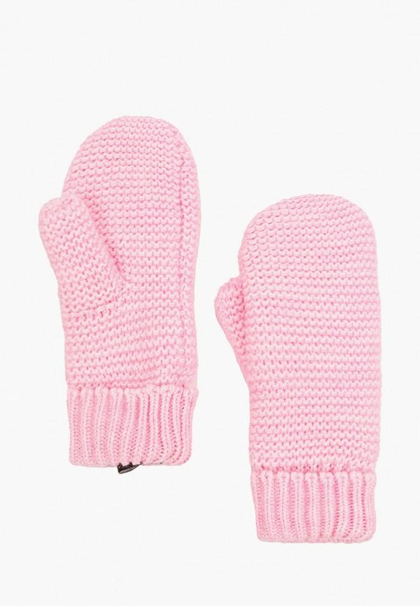 женские варежки baon, розовые