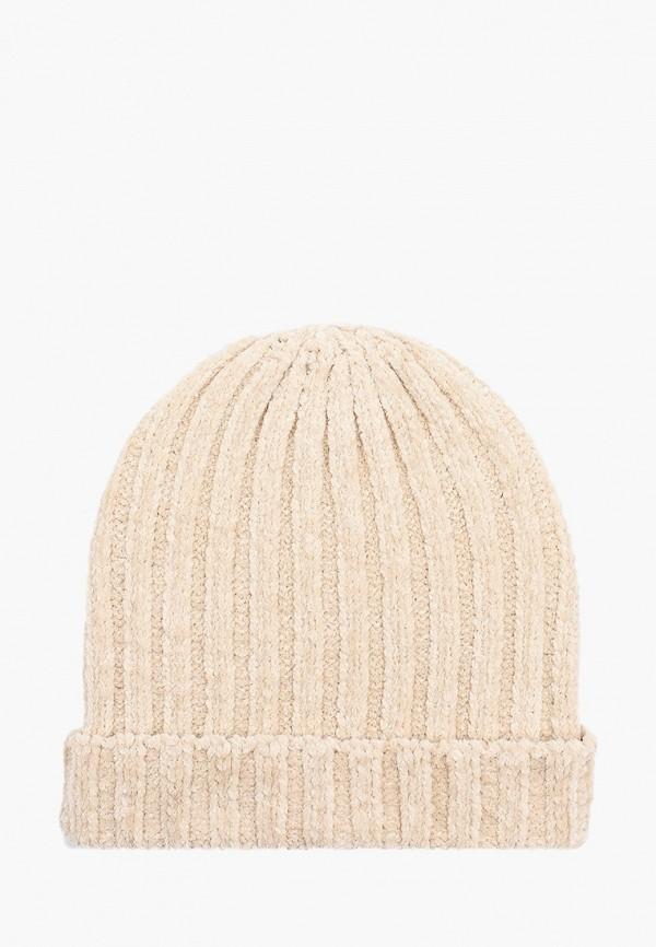 женская шапка colin's, бежевая