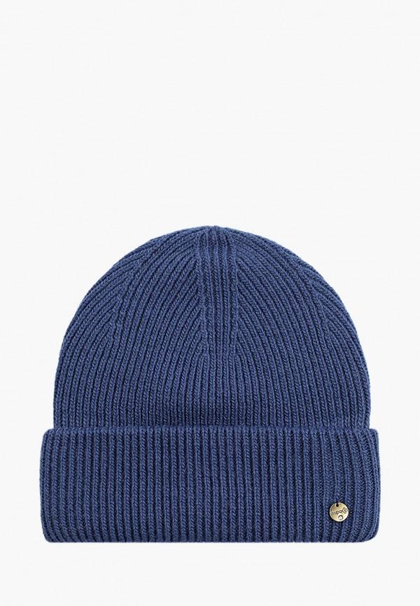 женская шапка dispacci, синяя
