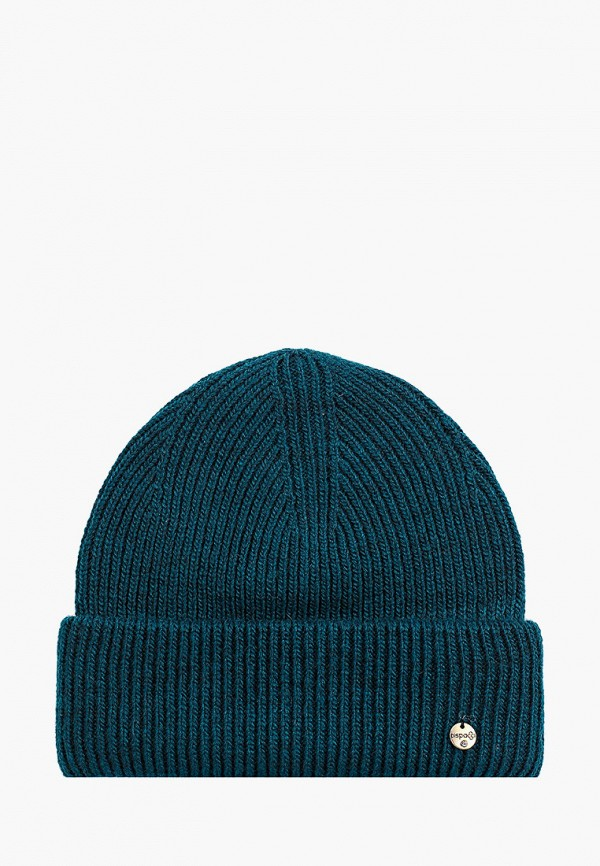 женская шапка dispacci, зеленая