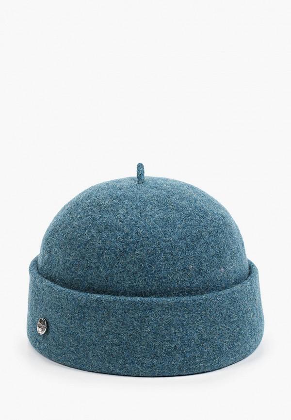 женская шапка dispacci, бирюзовая