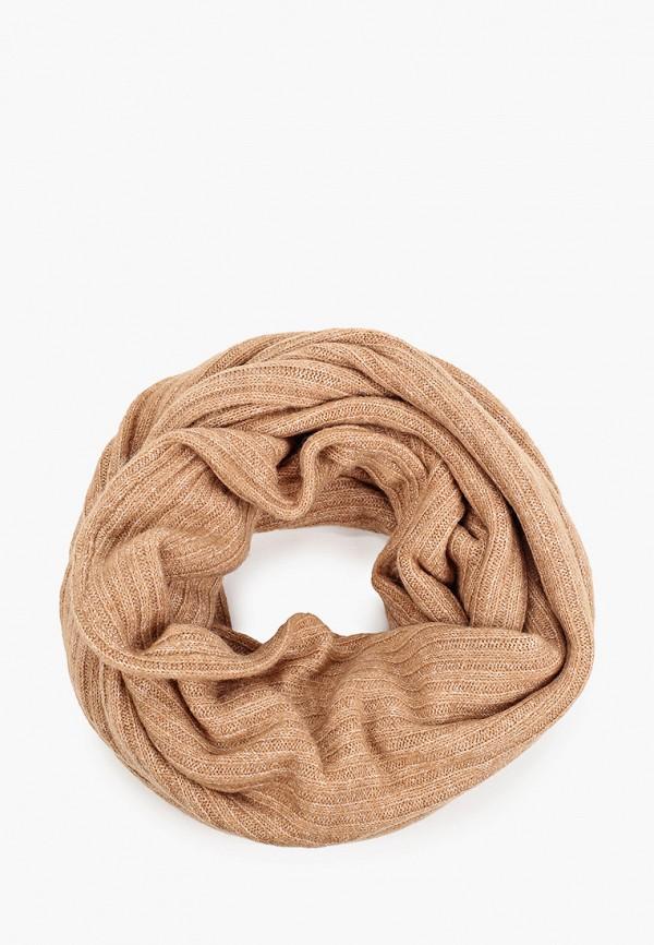 женский шарф zolla, бежевый