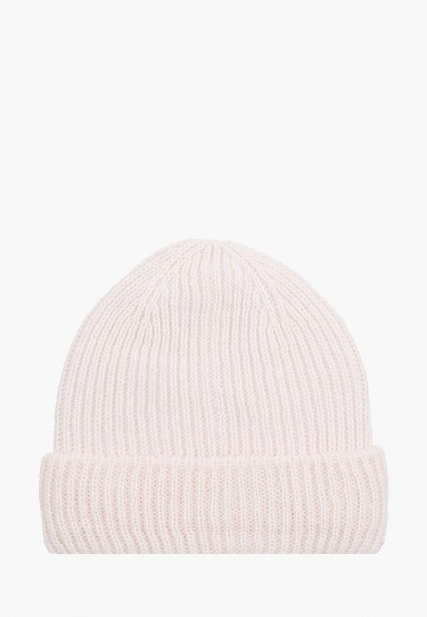 женская шапка zolla, бежевая